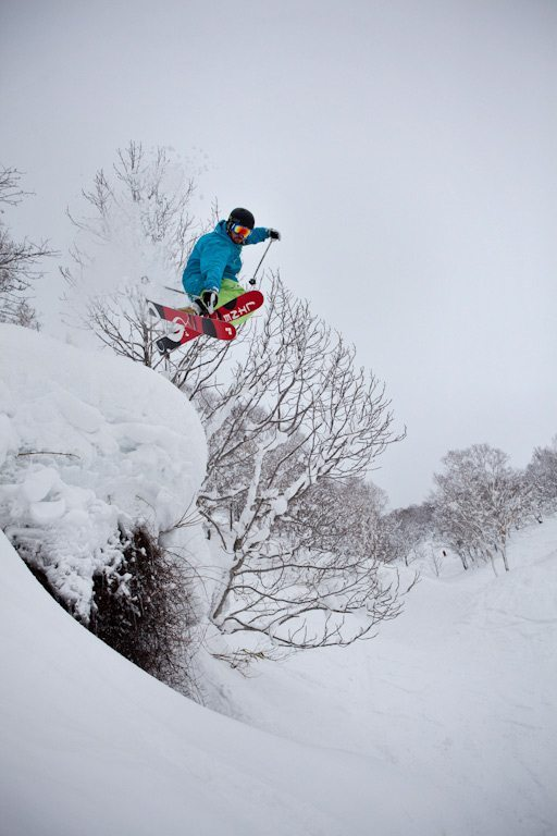 Andrew Gregovich, Niseko, Blister Gear Review.