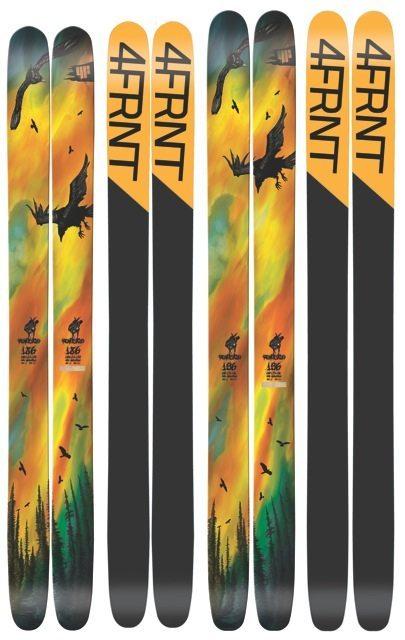 2010-2011 4FRNT Renegade, 186cm, BLISTER