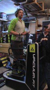 2011-2012 Fischer Vacuum 130 alpine ski boot, BLISTER