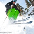 Love at last: Jason ripping on the Rossignol S6 / Sickle, East Castle area, Alta.