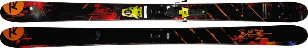 2011-2012 Rossignol Sickle / 2010-2011 Rossignol S6, 186cm, BLISTER