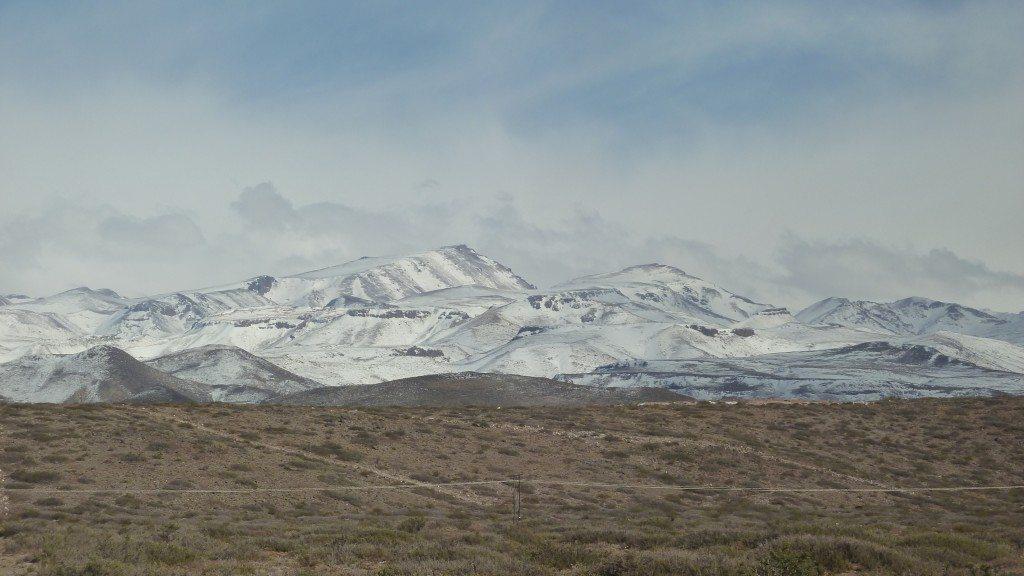 Getting to Las Leñas, BLISTER