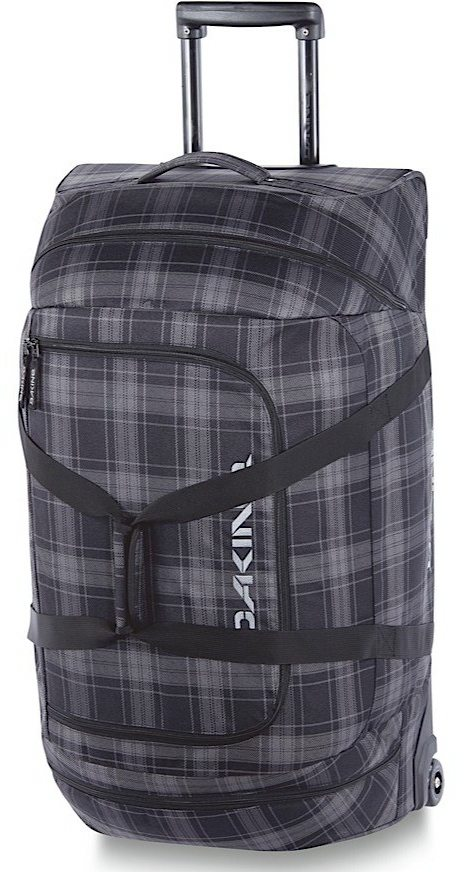 Dakine Concourse Double Ski Bag & Wheeled Duffle, BLISTER