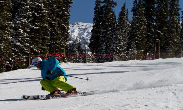 Carving performance of the 185 Rossignol Scimitar
