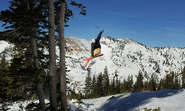 Jason Hutchins, mute 3, on the DPS Wailer 99s, Alta.