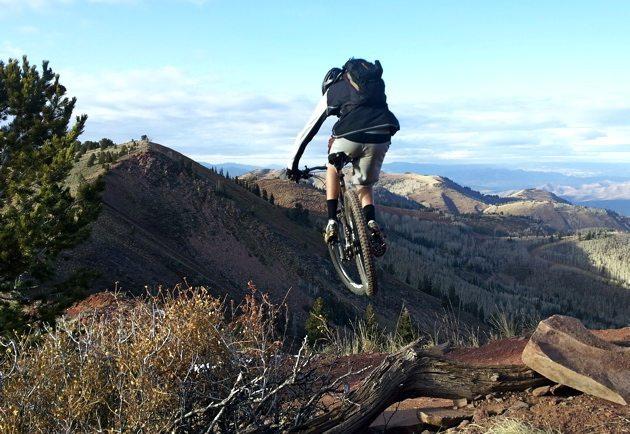 Jason Hutchins, Crest Trail, Utah, Rock Shox Reverb Adjustable Seatpost