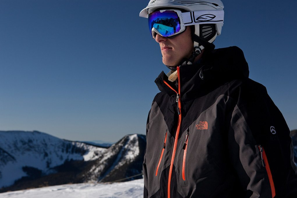Will Brown, in The North Face Hecktic Jacket, Taos Ski Valley.