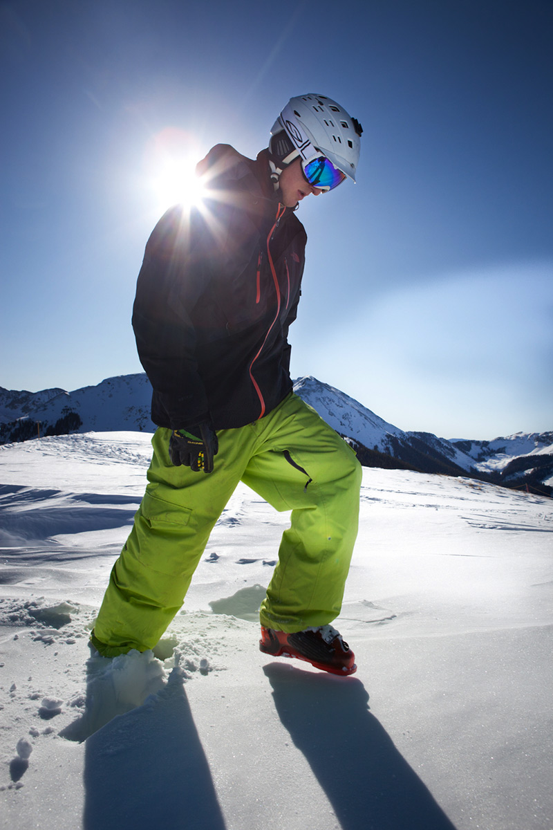 Will Brown, The North Face Hecktic Jacket, Taos Ski Valley