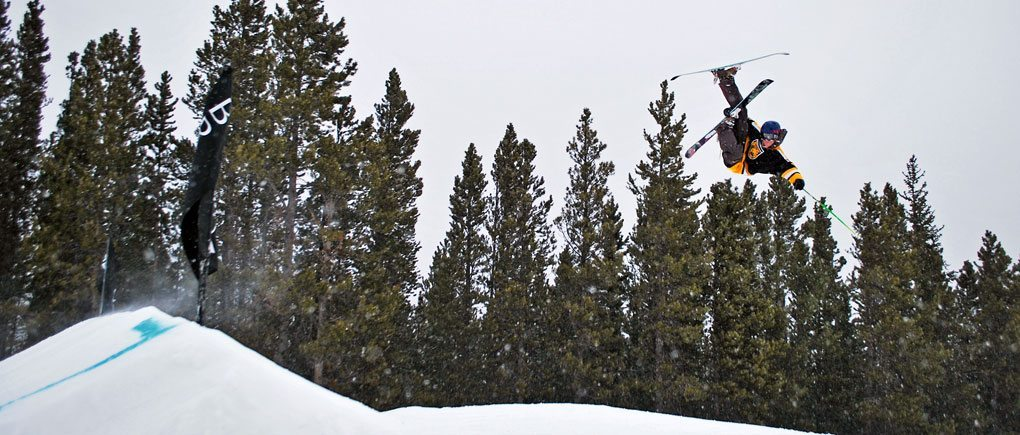 Scott Nelson hitting a Rodeo 540 on the MOMENT Reno Jib.