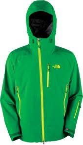 The North Face Enzo jacket, displayed
