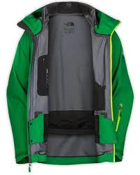 Photo of the inside of The North Face Enzo jacket