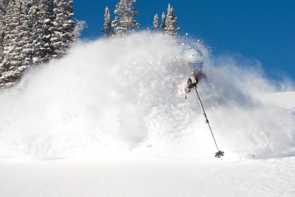 Kate Hourihan, Alta Ski Area.
