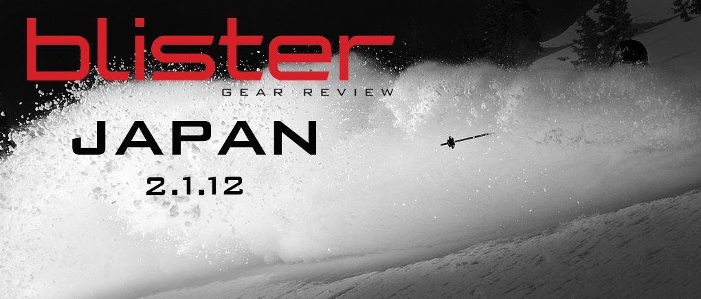 Niseko, Japan Ski Review Trip: Our Selections, BLISTER