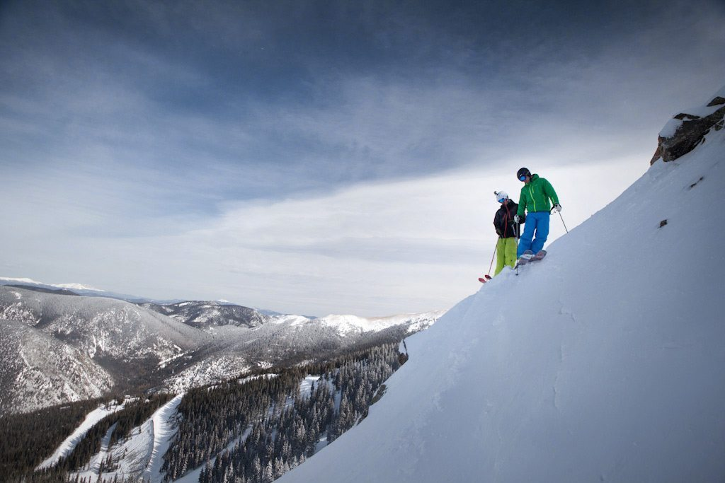 Will and Jonathan, Zdarsky, Taos Ski Valley.