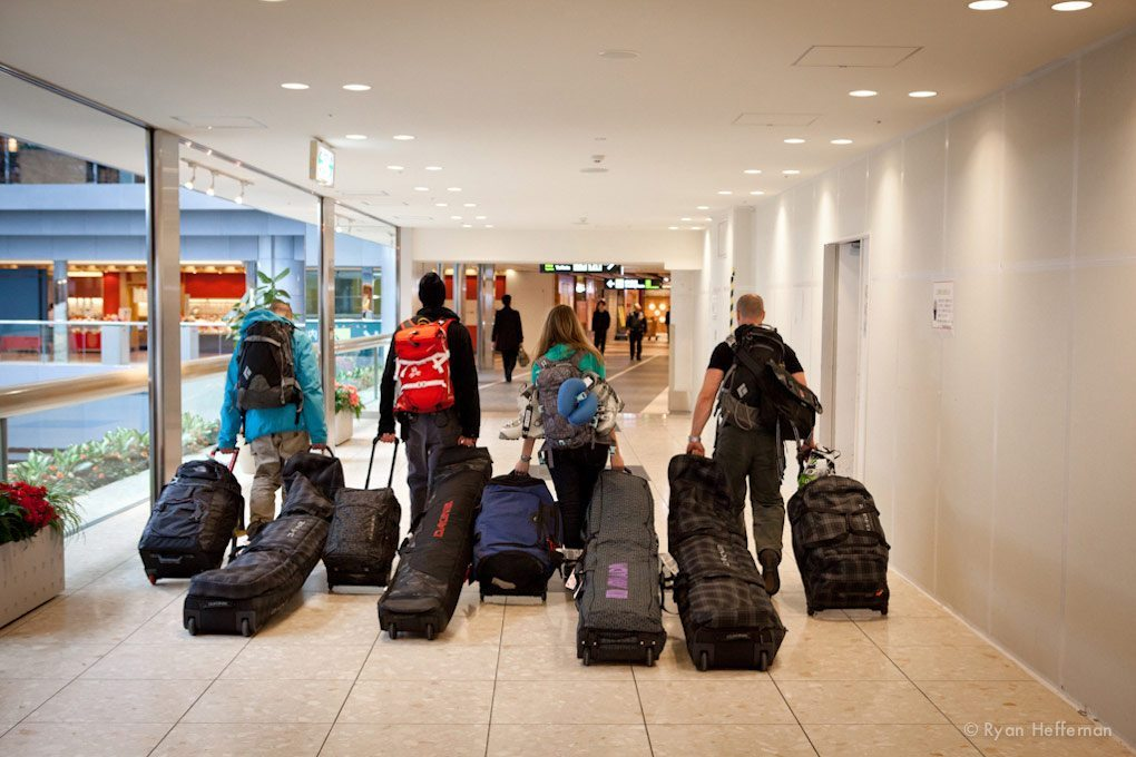 Blister Gear Review hits the airport.