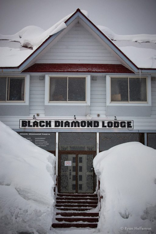 Black Diamond Lodge, Niseko, Japan.