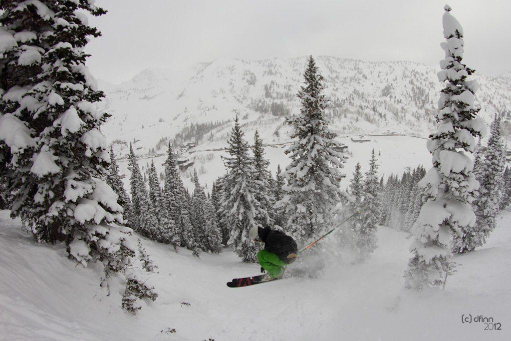 Jason Hutchins, Line Opus, Alta Ski Area.