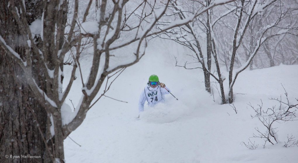 Jonathan Ellsworth, Praxis Protest, Niseko Japan.