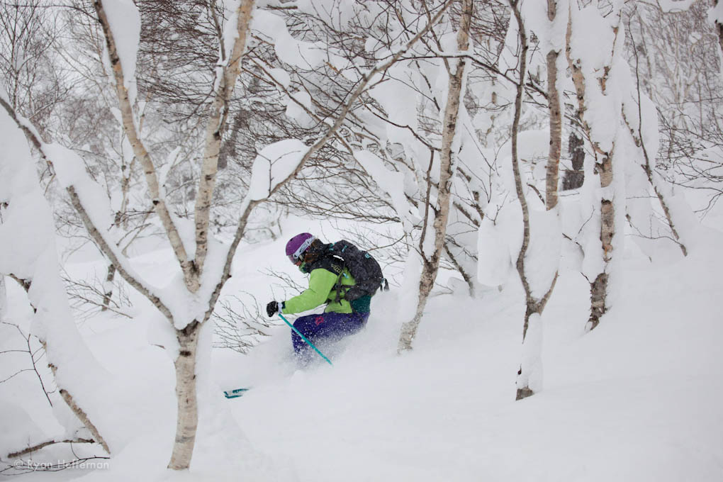 Julia Van Raalte, Smith IO/S goggle, Niseko Japan