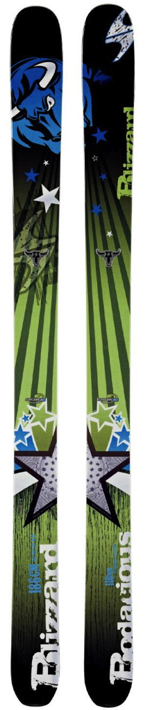 Andrew Gregovich reviews the Blizzard Bodacious, Blister Gear Review
