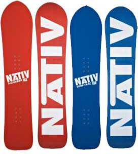 Nativ S-Camber and Surf-Trac, Blister Gear Review