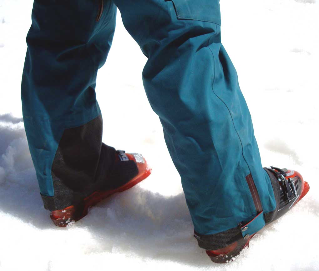 Trew Eagle Pant cuff, Blister Gear Review