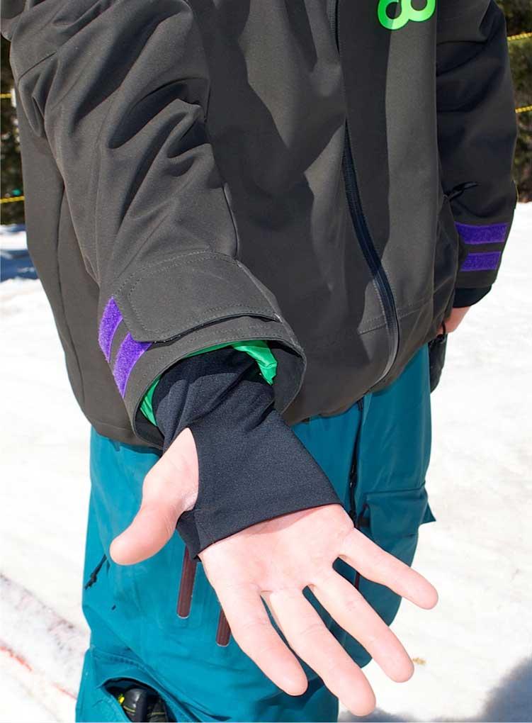 Coreupt Steep Ride Wrist Gaiter, Blister Gear Review