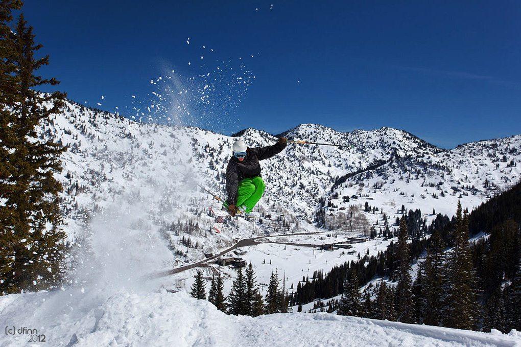 Jason Hutchins, Alta Ski Area, Blister Gear Review