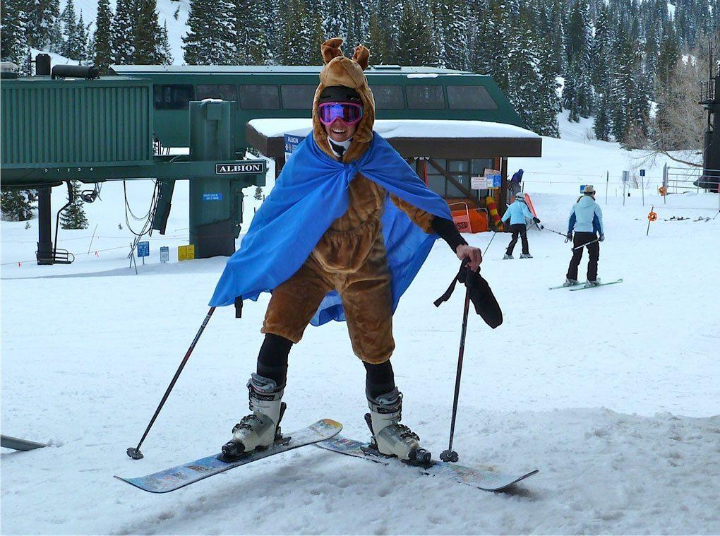 Stella Selden, Alta Ski Area, Blister Gear Review