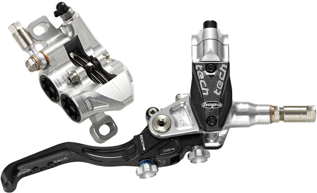 Hope Tech Evo M4 Brakes, Blister Gear Review