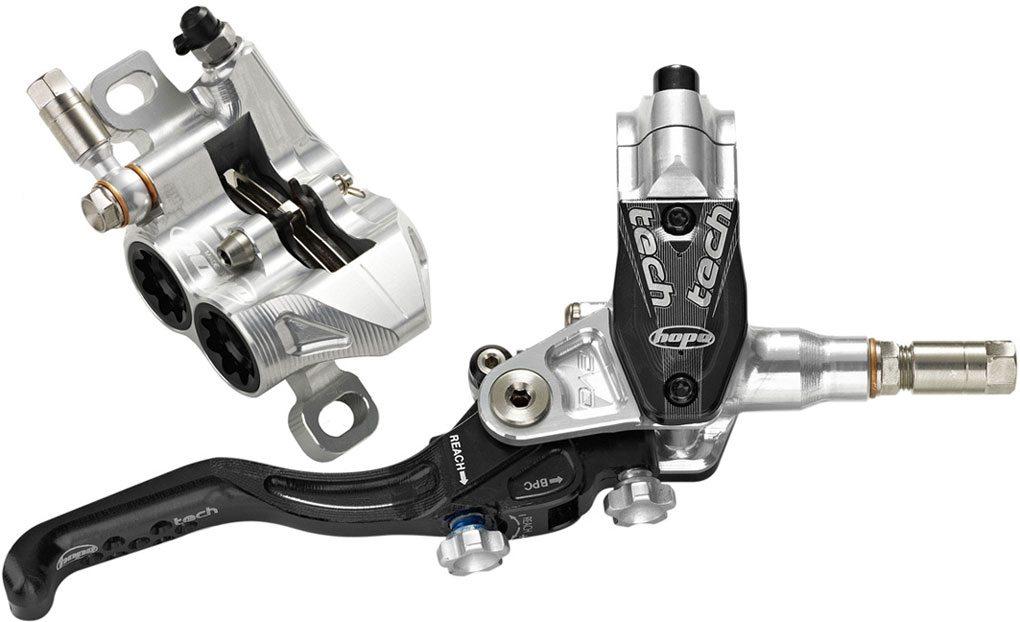 Hope Tech Evo M4 Brakes, Blister Gear Review