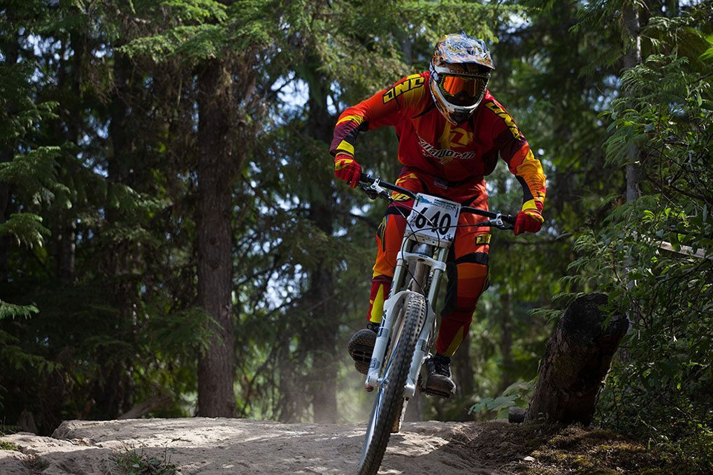 Andre Pepin, Crankworx 2012, Canadian Open DH, Blister Gear Review