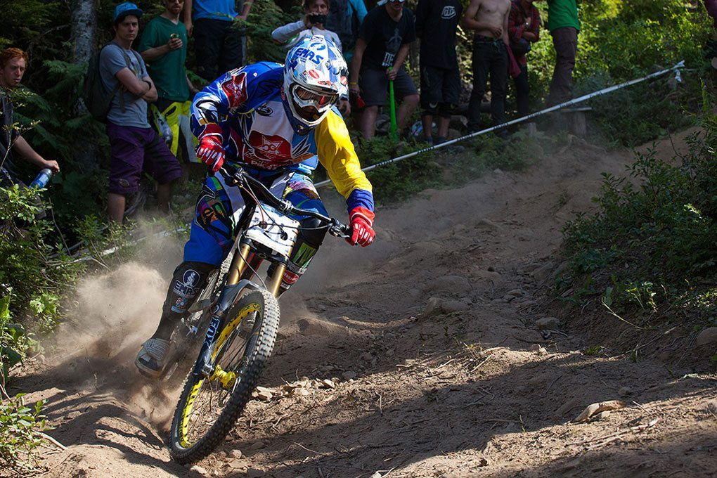 Marcelo Gutierrez Villegas, Crankworx 2012, Canadian Open DH, Blister Gear Review