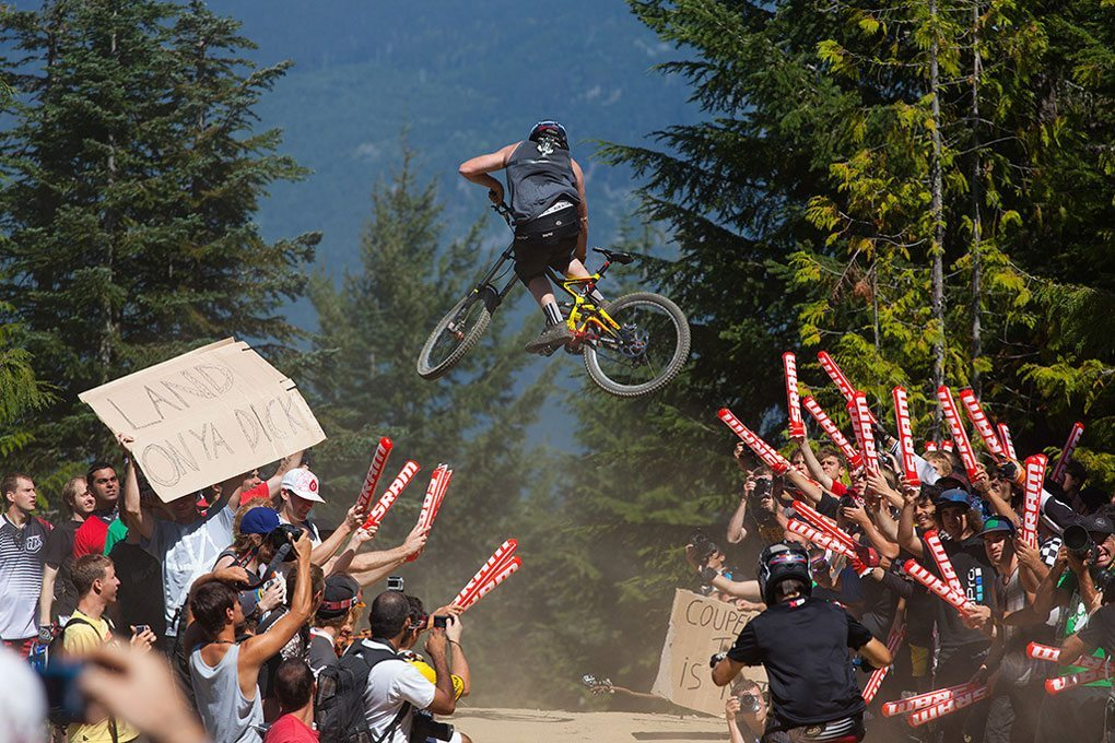 Crankworx 2012, Whip-Off World Championships, Blister Gear Review