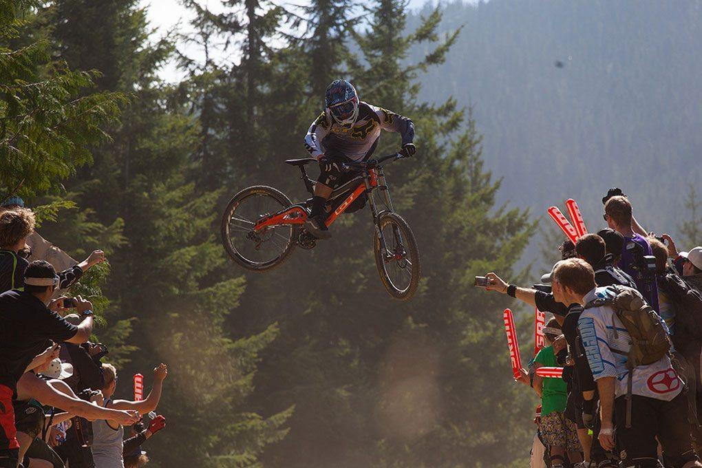 Kyle Strait, Crankworx 2012, Whip-Off World Championships, Blister Gear Review