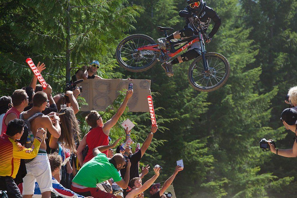 Tyler McCaul, Crankworx 2012, Whip-Off World Championships, Blister Gear Review