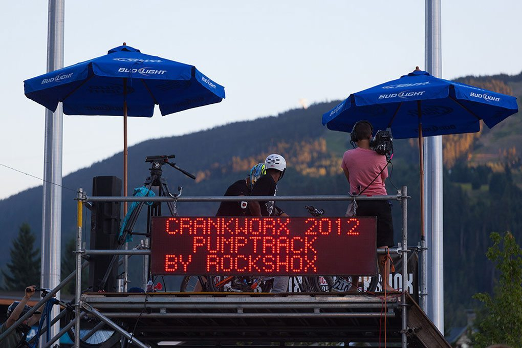 Crankworx 2012, Ultimate Pump Track Challenge, Blister Gear Review