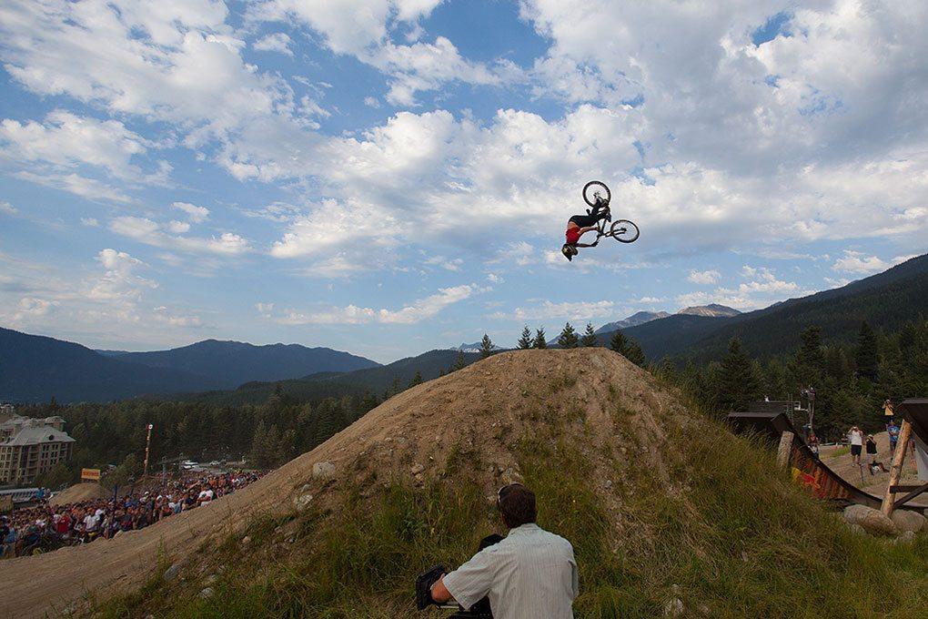 Cam McCaul, Crankworx 2012, Red Bull Joyride, Blister Gear Review