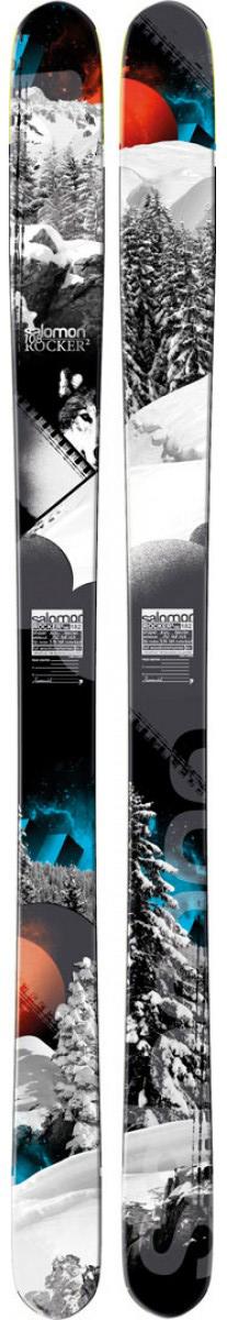 South American Ski Selections: Salomon Rocker 2, 108, BLISTER