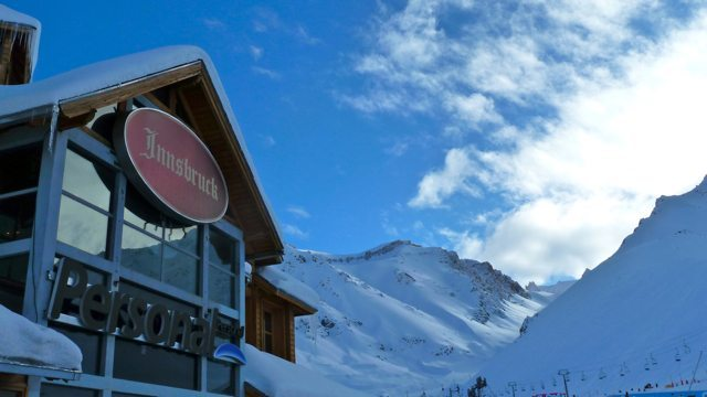 The front face of the Innsbruck, Las Leñas Ski Resort