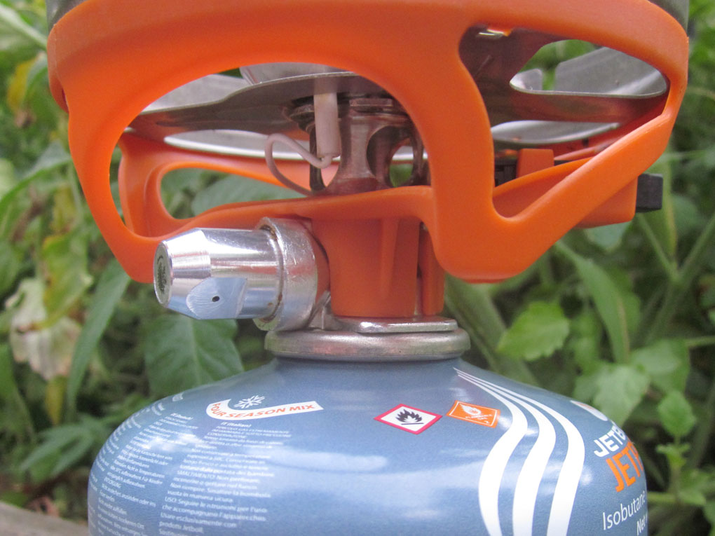 Jetboil Sol Ti Thermo-Regulate Mechanism, Blister Gear Review