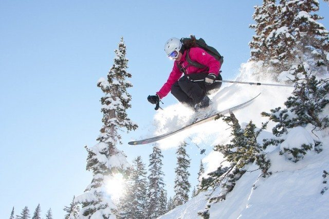 Kate Hourihan, Alta Ski Area, Blister Gear Review