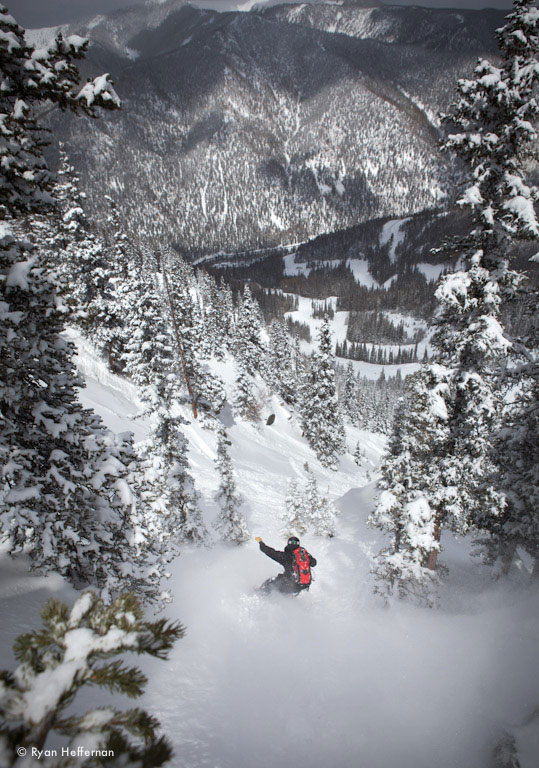 Justin Bobb, Taos Ski Valley, Blister Gear Review