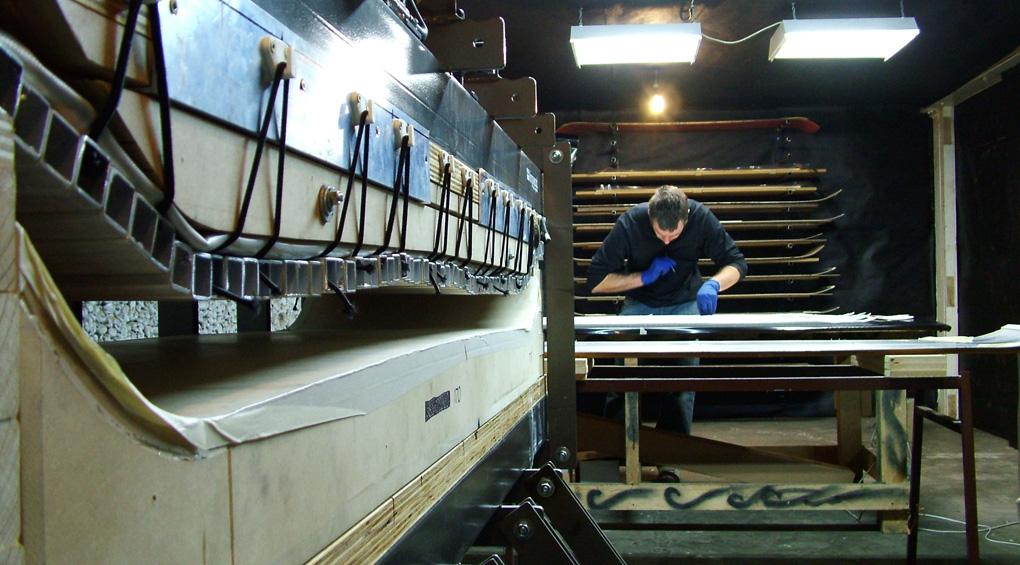 Alex Herbert, Kingswood Skis, Blister Gear Review