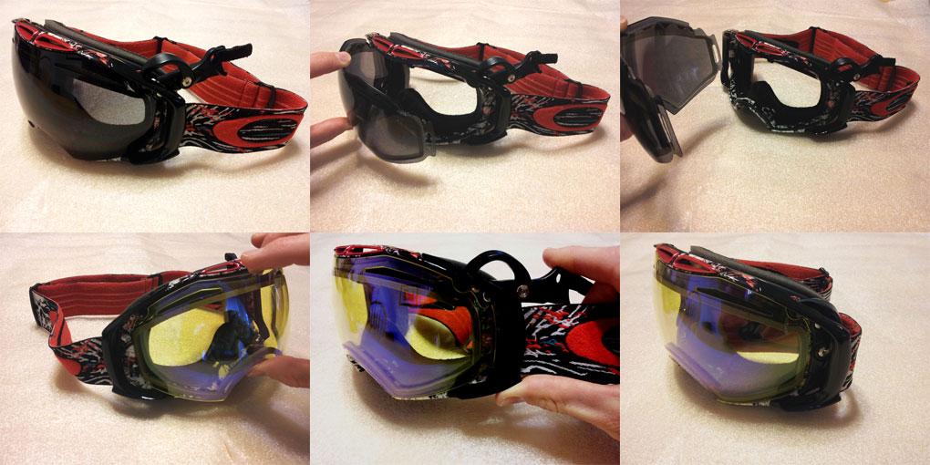 Oakley Airbrake Snow Goggles