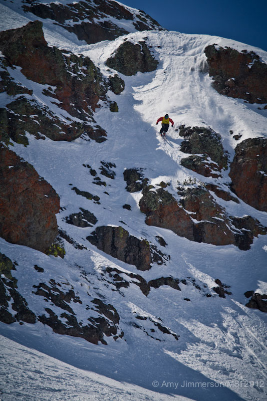 Rob Dickinson, Kirkwood 2012, Amy Jimmerson, Blister Gear Review