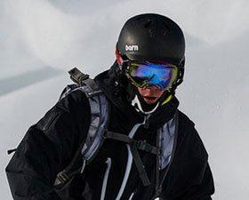 Bern Watts Carbon Fiber Helmet