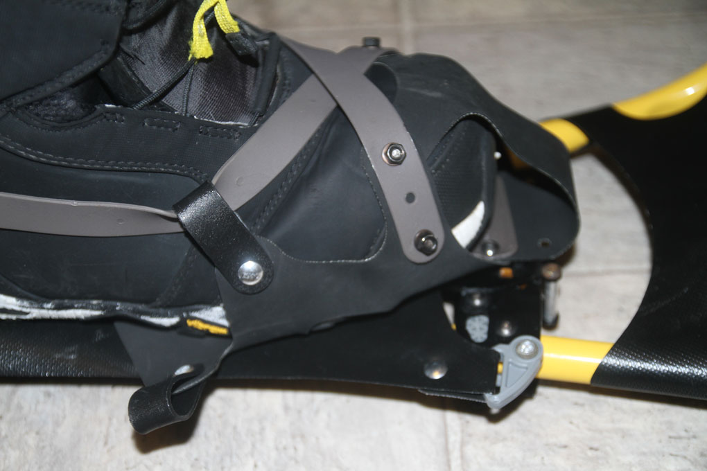SnowXu Snowshoe with Snowboard Boot, Blister Gear Review