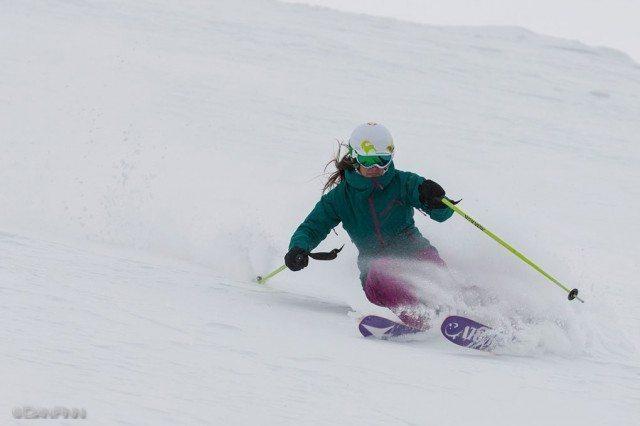 Lexi Dowdall, Gunsight, Alta Ski Area.