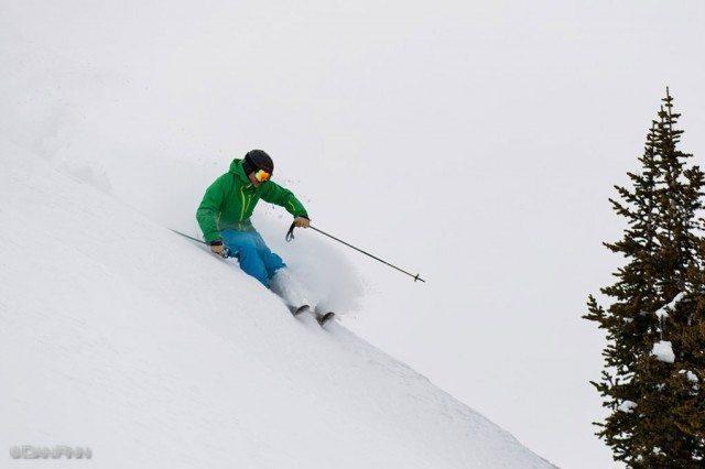 Jonathan Ellsworth, High Greeley, Alta Ski Area.